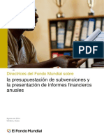 Guía BM Sobre Presupuestación de Subvenciones