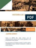 1. ¿Cuál Es La Historia Del Grupo EFE