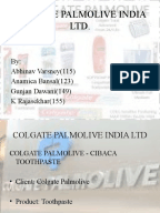 a study on marketing strategies of colgate palmolive ltd Marketing analysis of colgate palmolive pakistan  close-up's marketing strategy lays a greater emphasis on shinning teeth and fresher breath for social.