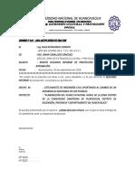 INFORME N° 45-2016-ESTUDIANTES DE INGENIERÍA CIVIL APORTANDO AL CAMBIO DE UN DESARROLLO SOSTENIBLE EN LOS PUEBLOS