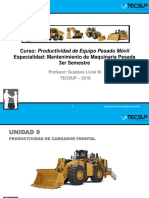 U9-Productividad de Cargador Frontal 2018-1