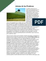 Ecosistema de Las Praderas