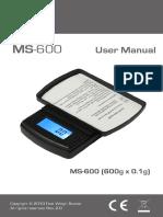 MS 600 Manual