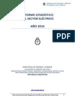 Informe Estadistico Sector Electrico 2016
