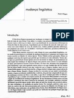CHAGAS 2002 a Mudanca Linguistica in-FIORIN 2002 Introd Linguistica
