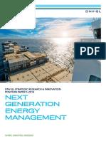 Next Generation Energy Management