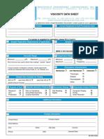 Visc Data Sheet