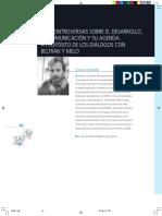 Gustavo Cimadevilla-Controversias sobre el desarollo, la comunicación