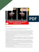 No Procede Conversión de Penas Luego de Emitida Sentencia Condenatoria