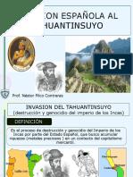 Invasiones AL tahuantinsuyo