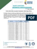 Invima Alerta Sobre El Producto Fraudulento Cialis 5mg y 20 Mg (1)