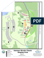Autumn Woods Classic 2015 Staging Area Map
