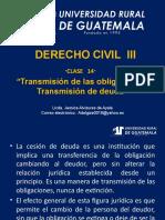 Derecho Civil III Clase 14