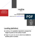 Lecture 2- Levelling(3)
