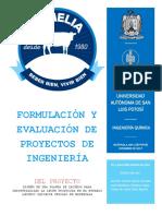 Formulación y Evaluación de Proyectos de Ingeniería Felipe Jenny Adal 1