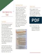 journal brochure