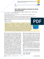 Benzophenone Ultrafast Triplet Population