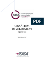CISA Item Development Guide Bro Eng 0117