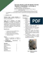 LABORATORIO DE ENSAYO DE LA NORMA ASTM D 86 - 12