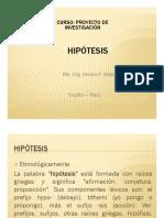Semana 6.- Hipotesis