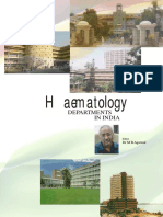 Top ranking haematology departments in India