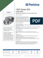 1306-E87T Engine (PN1480 75th)