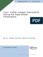 Igbt Power Loss Calculations