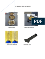 Apparatus and Materia1 Atterberg