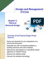 ITT550 - Chapter05-RY-Physical Network Design