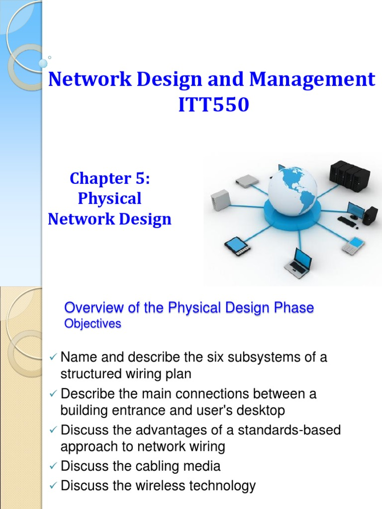 Itt550 Chapter05 Ry Physical Network Design Decibel Advantages Of Structured Wiring Electromagnetic Interference