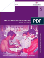 Abcess Prevention and Management Among Injecting Drug Users