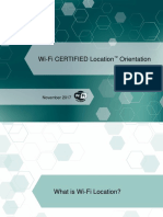 Wi-Fi CERTIFIED Location Orientation