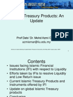 Islamic Treasury Products