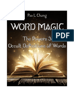 Word Magic the Powers Occult Definitions of Words1d(1)