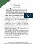 Tieszen1992godel and Phenomenology