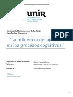 La influencia del ajedrez  en los procesos cognitivos.