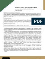 Tecnochess. Una propuesta didáctica para trabajar las competencias lingüística, tecnológica y matemática mediante el juego del ajedrez y las TIC