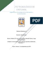 UNIDAD II Comunicacion en Los Sistemas Distribuidos