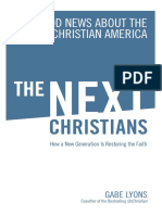 The Next Christians by Gabe Lyons - Excerpt