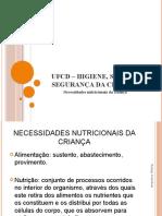 4-necessidades nutricionais criança
