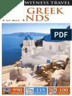 1dk Eyewitness Travel Guide the Greek Islands