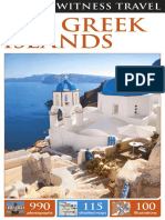 1dk Eyewitness Travel Guide the Greek Islands