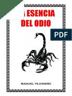 2- La Esencia Del Odio - Manuel Tejonero
