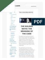 The Golden Ratio 37x73.Com