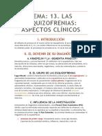 Tema 13 de Psicopatología