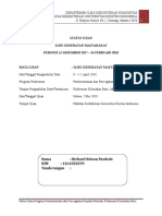 Status Ujian Richard Pardede