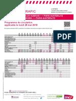 Info Trafic Axe q - Tours-Orleans-paris Et Montluçon-bourges-paris Du 28-05-2018_tcm56-46804_tcm56-193120