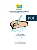 A Translanguaging Pedagogy for Writing a CUNY-NYSIEB Guide for Educators Arquivo