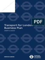 Tfl LOndon Business Plan December 2017