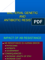 Bacterial Genetic and Resistance